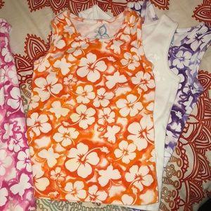 Children's Place Shirts & Tops - 3 Children's Place Hawaiian 🌺 Tanks